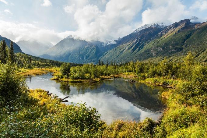 Valley in Alaska