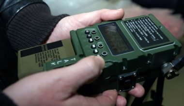 Man using one of the best survival radios