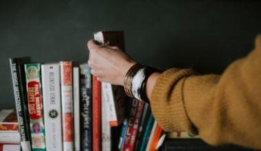 Bookshelf full of the best survival books
