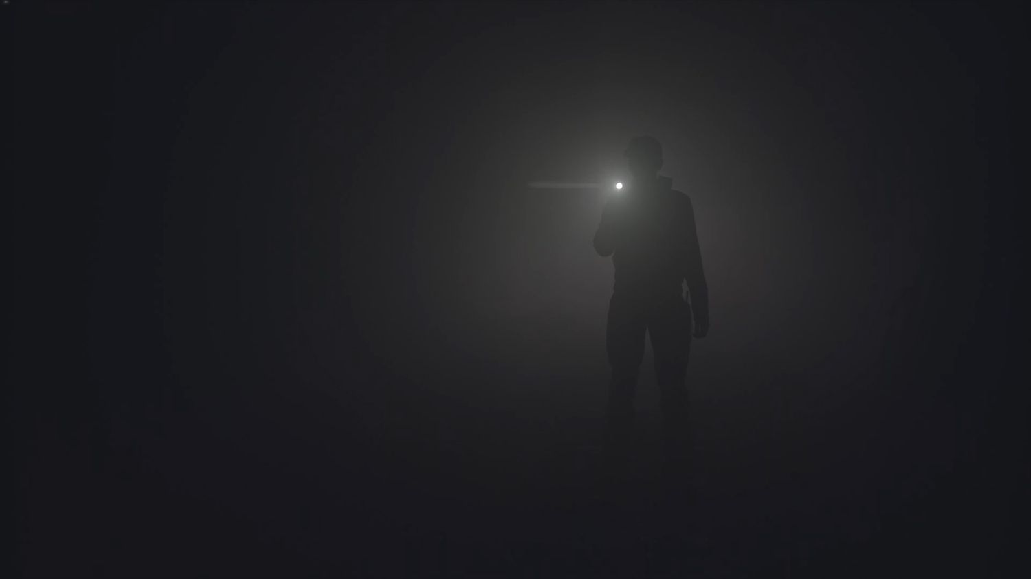 Man using one of the best AAA flashlights